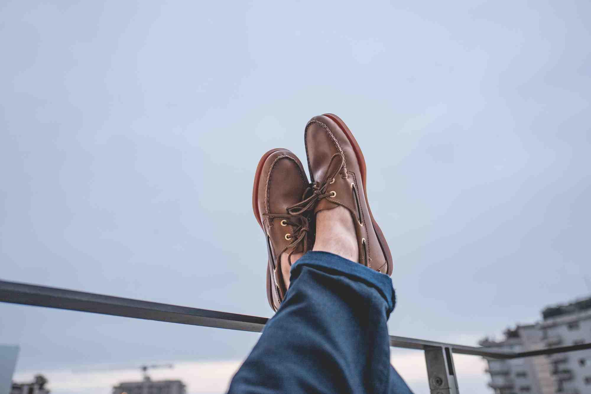 Pourquoi des chaussures bateau?