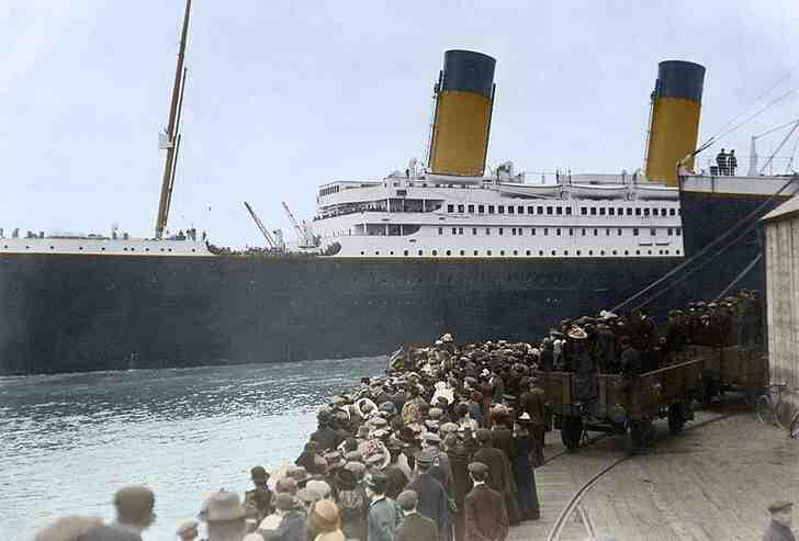 Où a coulé le Titanic ?