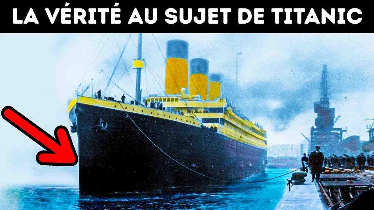 Pourquoi le Titanic est célèbre ?