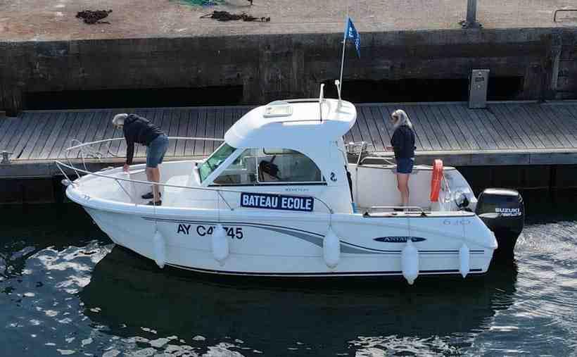 Quelle distance avec un permis côtier?