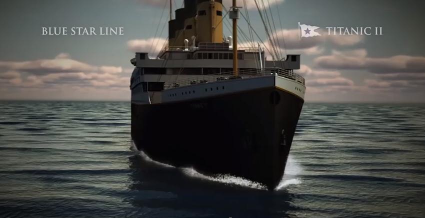 Où est la destruction du Titanic?