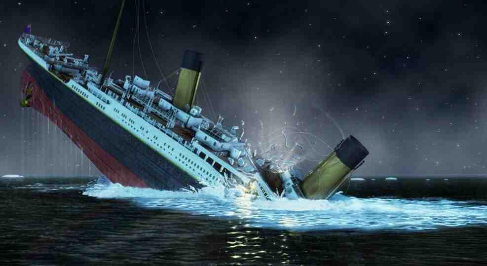 Où le Titanic at-il atterri?