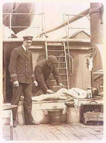 Où sont enterrées les victimes du Titanic?
