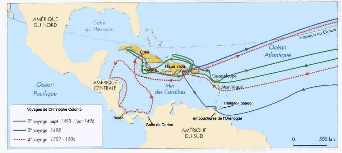 Quel navire ne faisait pas partie de l'équipage de Christophe Colomb lorsqu'il a découvert l'Amérique?