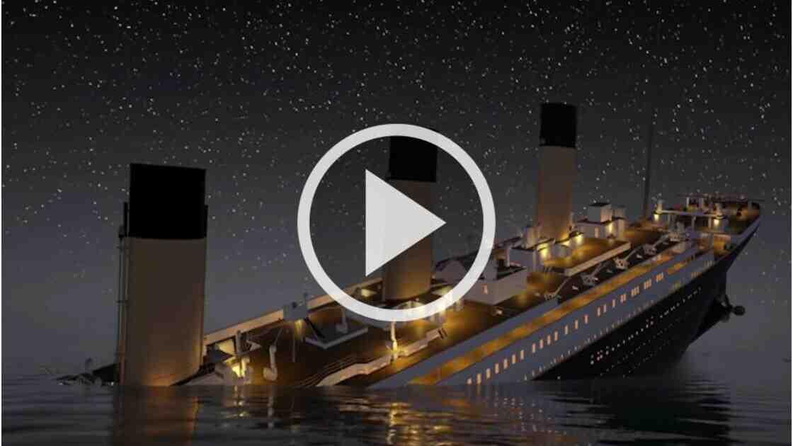 À quelle date le Titanic devrait-il couler ?
