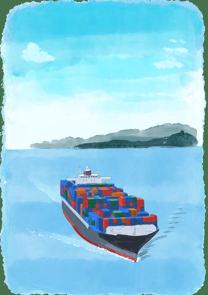 Comment appelle-t-on le départ d'un bateau ?