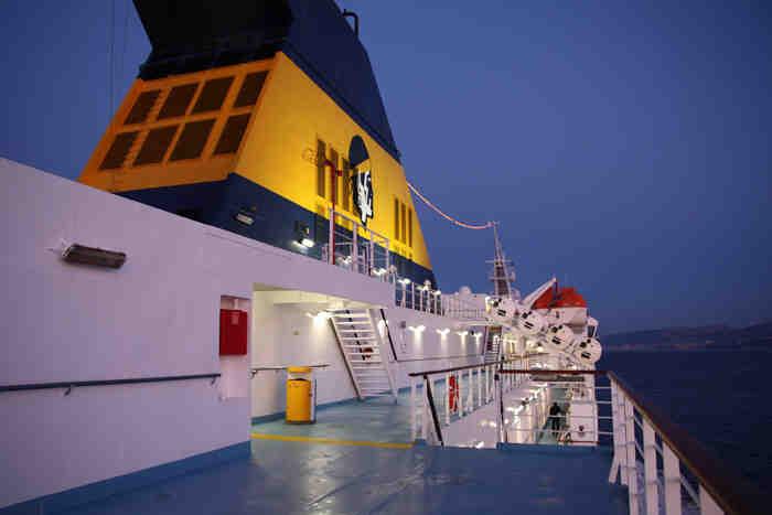 Où prendre le ferry pour Ajaccio ?