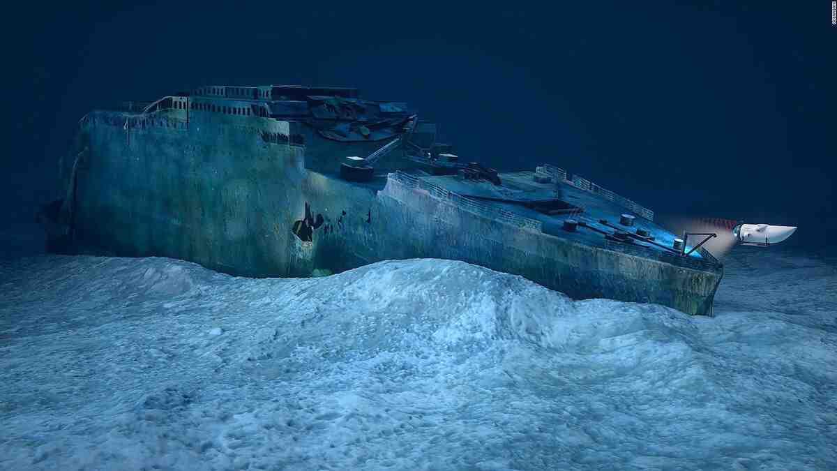 Où se trouve le Titanic aujourd'hui ?
