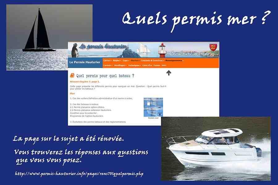 Quelle est la différence entre les permis côtiers et étrangers ?