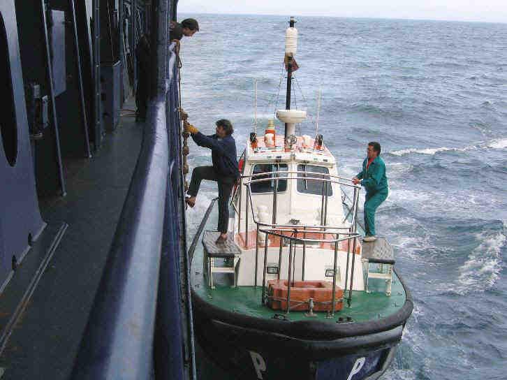 Qui dirige les bateaux ?